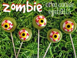 zombie oreo cookie eyeballs young at heart mommy