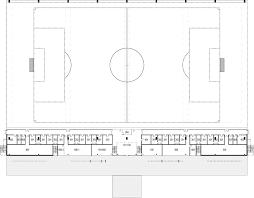 Stadium Plan Gallery Of Saint Michel Soccer Stadium Proposal Paul Laurendeau 5