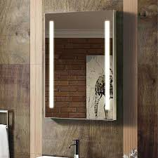 enki 500 x 700 mm backlit illuminated bathroom wall led mirror