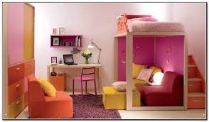 Girls Bed With Desk by Girls Loft Beds With Stairs Babytimeexpo Furniture