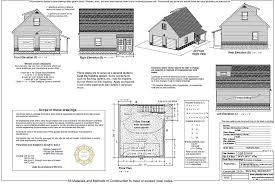 Garage Drawings Plan G2b 021216 Custom Home Plans Drafting Service And Drawing