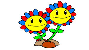 plants vs zombies coloring pages sunflower coloring book youtube
