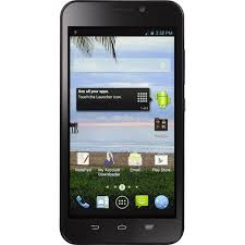 prepaid android phones total wireless zte quartz android prepaid smartphone walmart