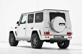 mercedes land rover white brabus widestar mercedes benz g 350cdi picture 87375