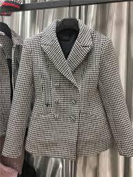 plaids en laine plaid laine blazer promotion achetez des plaid laine blazer