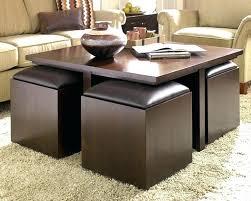 dark brown storage ottoman brown storage ottoman medium size of coffee table brown storage