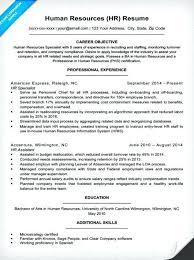 entry level hr resume lukex co