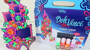 doh vinci flower tower by hasbro toys play doh arts u0026 crafts