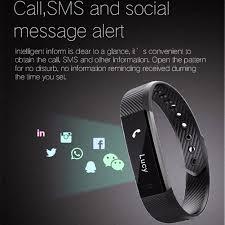 bracelet iphone sleep images Id115 fitness tracker teal jpg