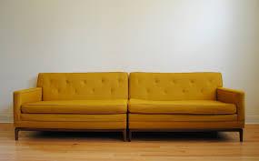 Modern Yellow Sofa Mid Century Modern Sofa Aifaresidency