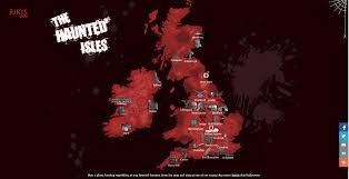 the haunted isles a map of ghost stories in uk u0026 ireland