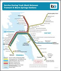 Bart Stations Map by City Of Fremont Ca Fremont Ca Twitter