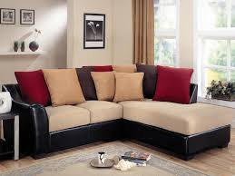 furniture elegant black sectional couches with ream seat plus