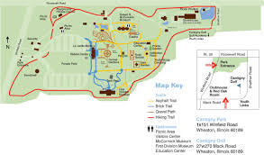 Mccormick Place Map Park Map Cantigny