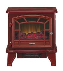 20 u0027 u0027 duraflame red stove electric fireplace