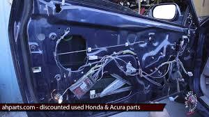 1999 honda civic window motor part2 how to fix replace install broken window regulator motor