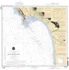 california map half moon bay half moon bay nautical chart νοαα charts maps