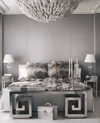 Lush Fab Glam Home Decor Go Glam With Modern And Vintage Silver - Black white and silver bedroom ideas