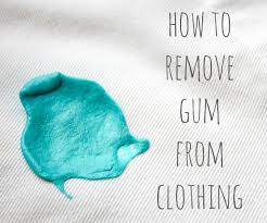 How To Remove Buildup On Laminate Floors How To Remove Gum From Clothes 4 Steps With Pictures