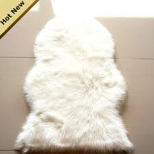 cr22 luxury shaggy rug animal faux fur carpet sheepskin rugs floor