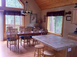 Crater Lake Lodge Dining Room by Mtn Views 5 Star Vacation Home Snowmobil Vrbo