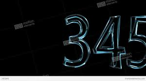 Video One 3d Ten To One Numeric 3d Countdown Stock Animation 265049