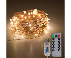 usb office fairy lights usb led fairy lights w remote control copper wire 32 gift