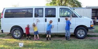 15 passenger van organization for the large family