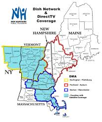 New England On The Map Tv Reception Faq New Hampshire Pbs