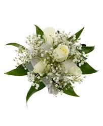 Corsage Flowers 4 White Rose Corsage Royer U0027s Flowers And Gifts Flowers Plants