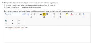 message d absence de bureau comment puis je activer une réponse d absence du bureau exchange