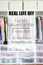 organizing closets they wanted more closet storage without remodeling see what they