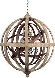 Wood Orb Chandelier Best 25 Wood And Metal Chandelier Ideas On Pinterest Cheap