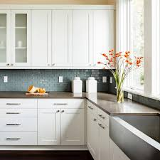 white gloss glass kitchen cabinets kitchen cabinet materials pictures options tips ideas