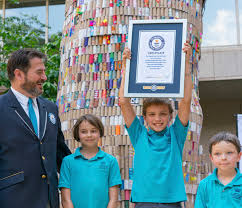 largest toyota national geographic kids and toyota set new record for world u0027s