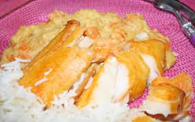 cuisiner haddock recette duo épicé carottes lentilles corail haddock sauce