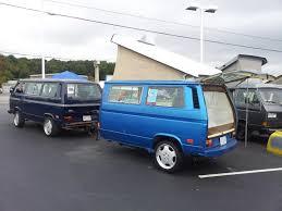 volkswagen camper trailer what do you do with an extra vanagon make a trailer vanagon