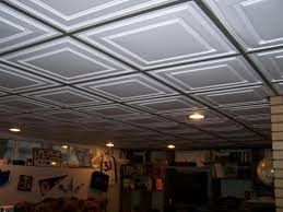 drop ceiling ideas in low ceiling basement modern ceiling design