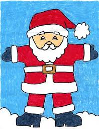 santa claus picture santa claus projects for kids