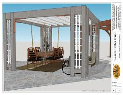 Pergola Rafter End Designs by 14 Wonderfully White Outdoor Shade Structures Western Timber Frame