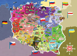 Poland Map Flag Interesting Information About Poland