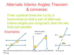 Example Of Alternate Interior Angles Geometry Journal 3 Michelle Habie Ppt Download