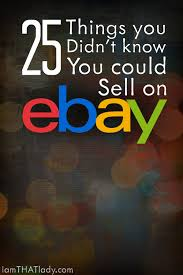 25 things you didn u0027t know you could sell on ebay
