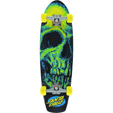 santa cruz skateboards creep street shark complete cruiser