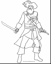 excellent kids pirate coloring pages printable pirate