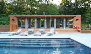 Pool Houses Cabanas Interior Small House Design Guest Pool House Cabana Plans Pool
