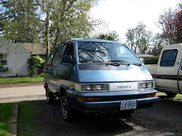 toyota american models cars of a lifetime 1987 toyota 4 4 van u2013 you just can u0027t kill it