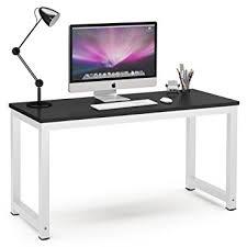 Large Black Computer Desk Tribesigns Computer Desk 55 Large Office Desk