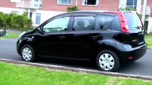car nissan black nissan note 1 5l auto 2005 youtube
