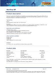 jotun hardtop xp technical data sheet epoxy shelf life